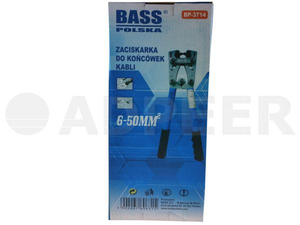 Zaciskarka do końcówek kabli 6-50mm Adpeer Bass Polska