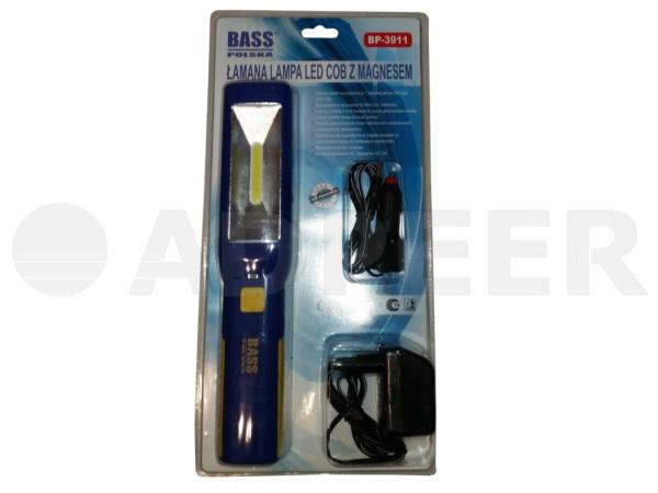 Lampa warsztatowa LED magnesem i hakiem Adpeer Bass Polska