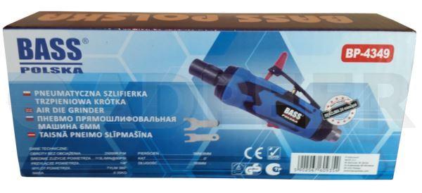 Szlifierka pneumatyczna prosta 6mm Adpeer Bass Polska