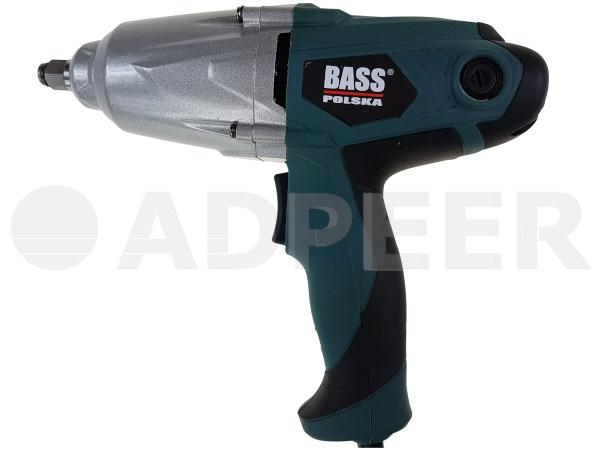 Klucz udarowy elektryczny 650W 800Nm Bass