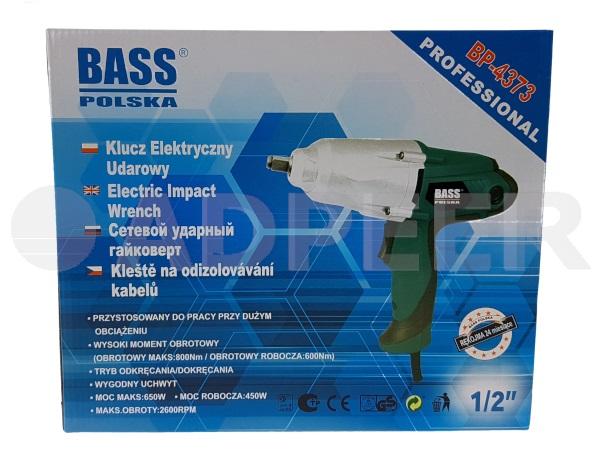 Klucz udarowy elektryczny 650W 800Nm Adpeer Bass Polska
