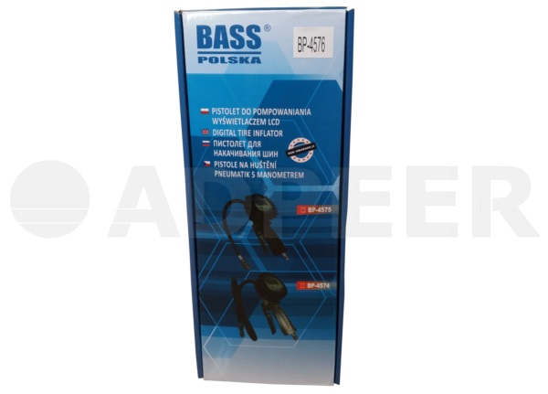 Pistolet do pompowania kół z manometrem 12bar Adpeer Bass Polska