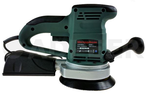 Szlifierka oscylacyjna mimośrodowa 450W Adpeer Szlifierka
