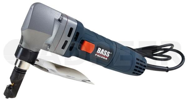 nożyce elektryczne do cięcia blachy prostej 2mm bass