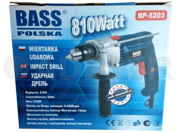 Adpeer BassWiertarka udarowa 810W