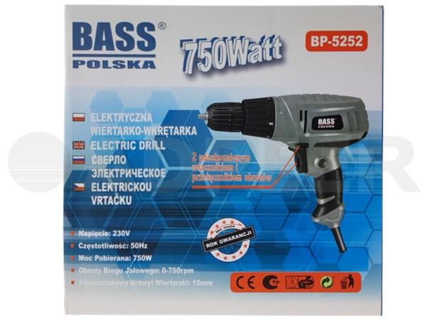 Adpeer BassWiertarko-wkrętarka z regulacją obrotów 750W