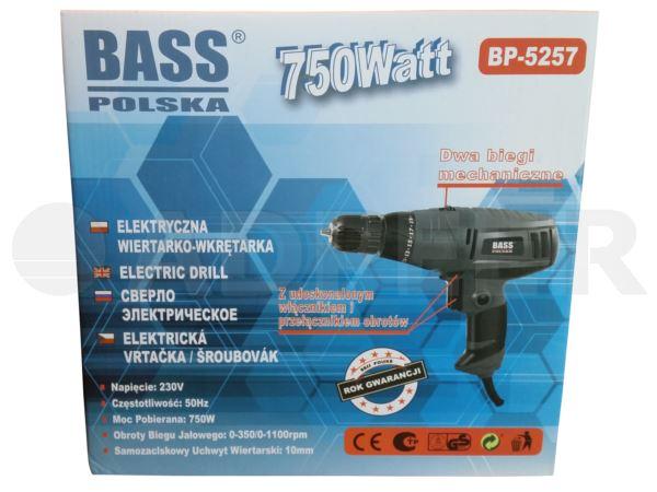 Adpeer BassWiertarko-wkrętarka dwubiegowa 750W
