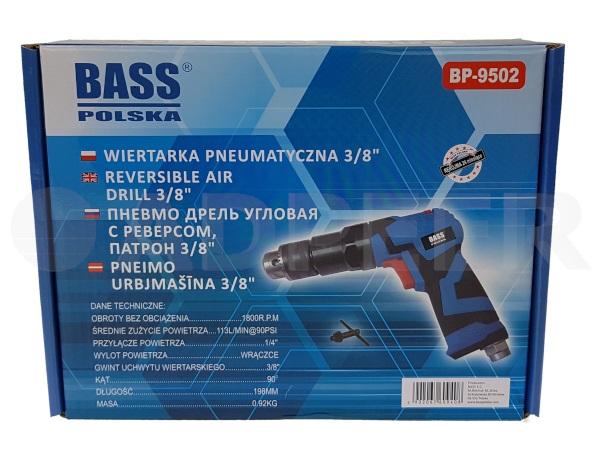Adpeer Bass Wiertarka pneumatyczna 3/8 10mm