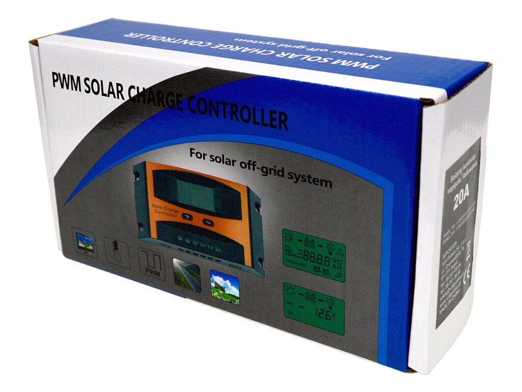 Adpeer Volt Solarny regulator ładowania 20A