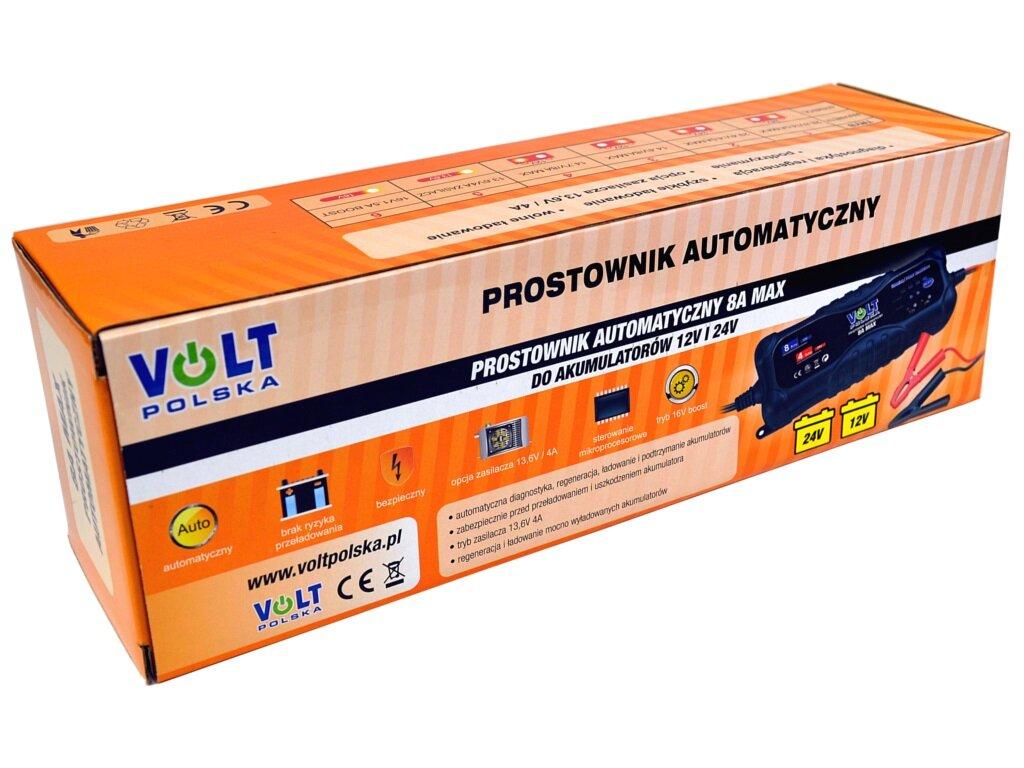 Adpeer Volt Prostownik Volt Polska 8A 12/24V