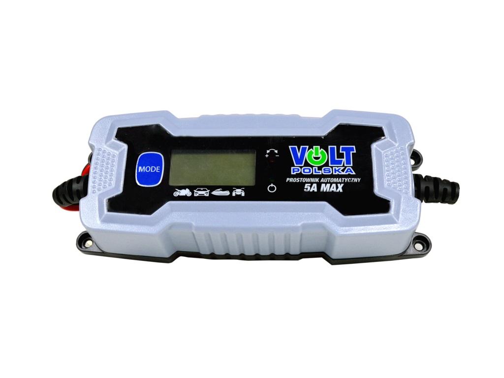 Volt Prostownik Volt Polska 5A 6/12V LCD