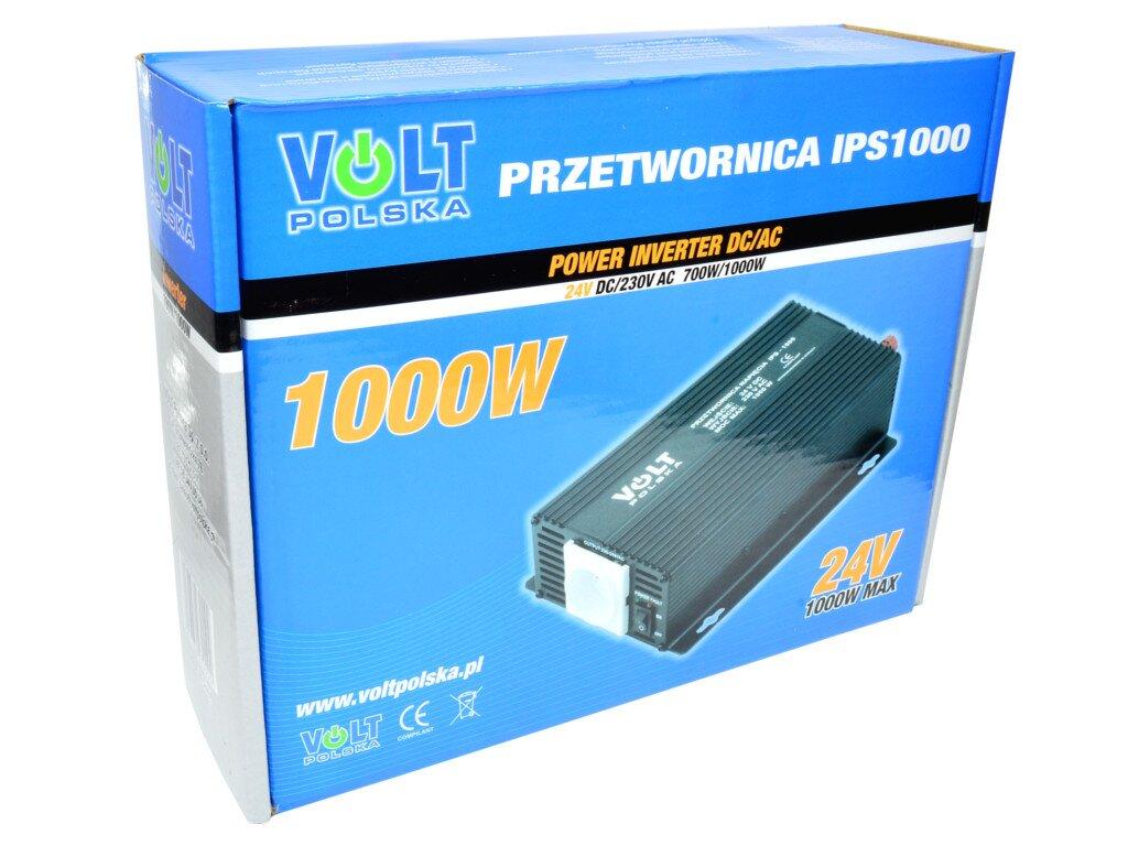 Adpeer Volt Przetwornica napięcia Volt Polska 1000W 24V IPS 1000 24V