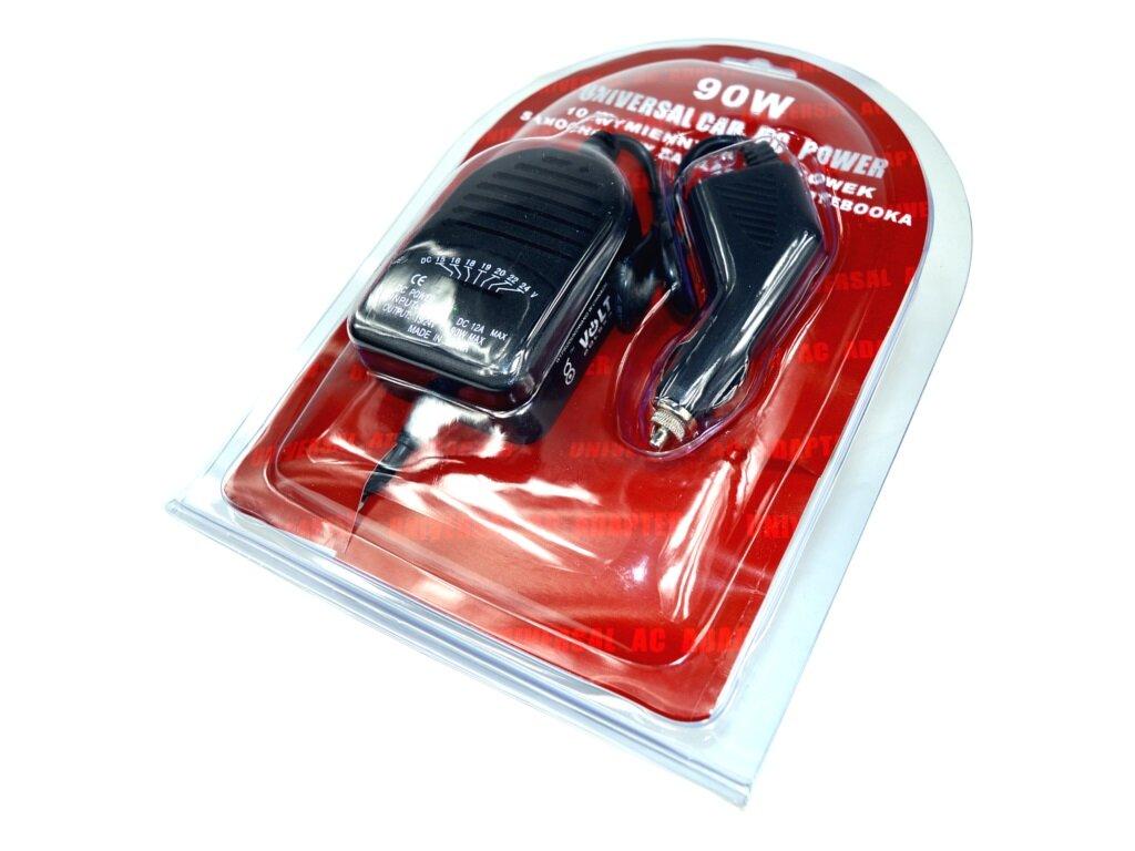 Adpeer Volt Zasilacz samochodowy do laptopa 12V 90W Volt Polska z USB